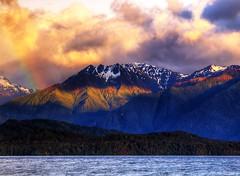 [免费图片素材] 自然景观, 山, 彩虹, 景观 - 西兰 ID:201211291200