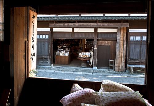 Tsumago shops