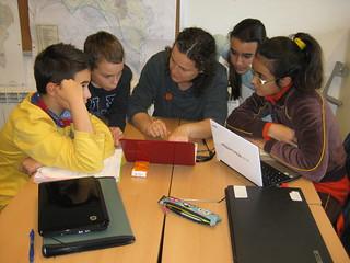 Grups base analitzant el treball de camp