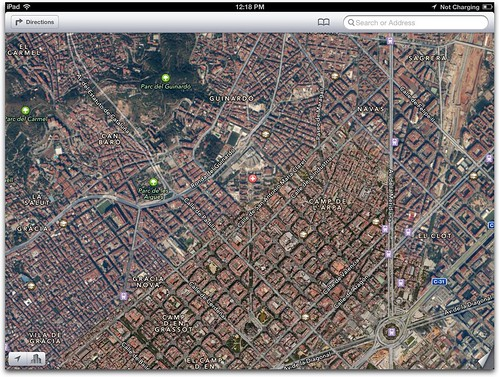 Maps app from iBooks