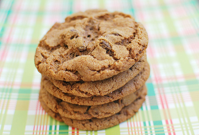 Chewy Chocolate Gingerbread Cookies - Fake Ginger