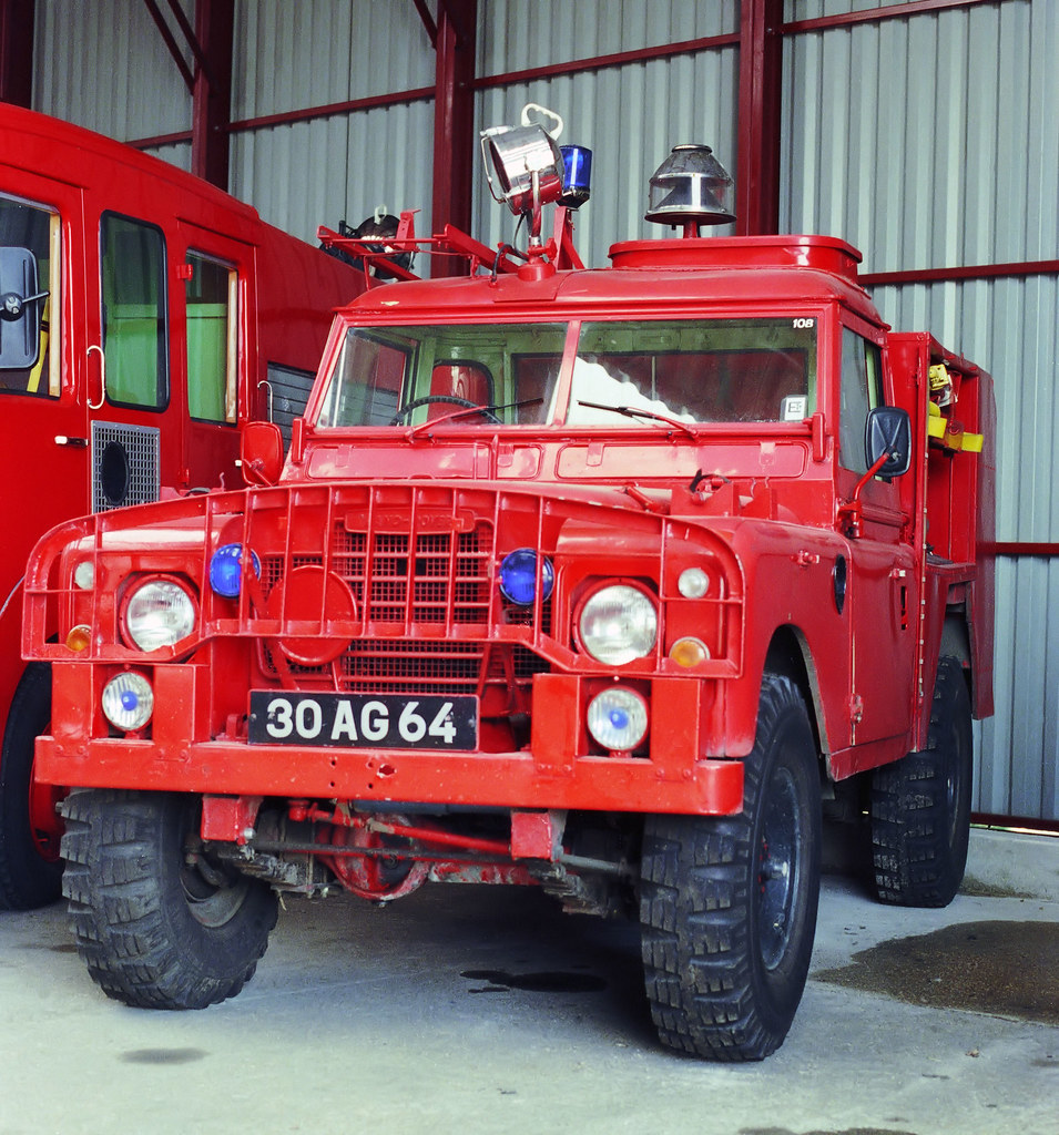 RAF Fire Service, 1980's