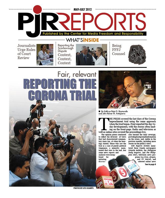 PJR Reports May-July 2012