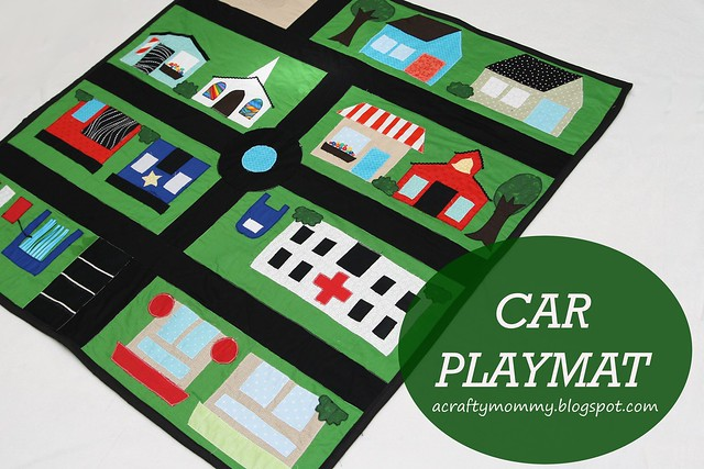 Stitched By Crystal Car Play Mat