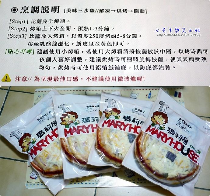 2 產品使用說明與披薩口味