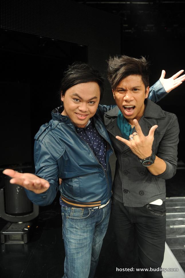 2 finalis yang terkeluar pada minggu ini, iaitu Anjun dan Syahz