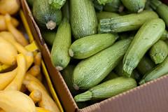 plant(0.0), fruit(0.0), vegetable(1.0), summer squash(1.0), produce(1.0), food(1.0), gourd(1.0),