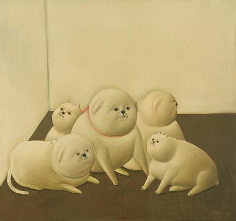 Botero, Perros, 1966