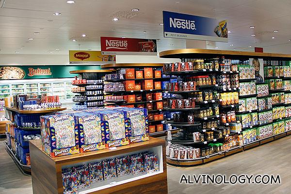 Nestle only supermarket