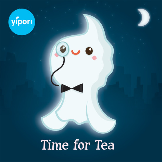 Time for Tea with Mr Ghost