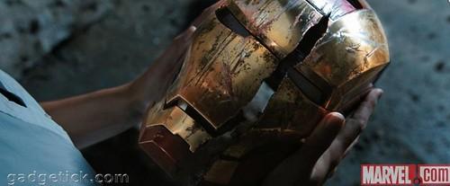Кадры Железный человек 3