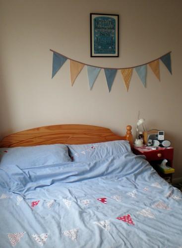 Bunting Bedroom