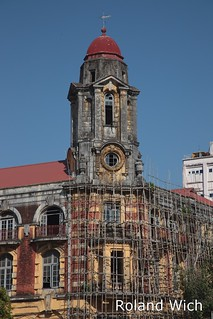 Yangon - Old Rowe Building | Immigration Office