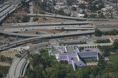 Freeways and Purple Buildings
