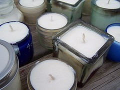 candles - soy wax peppermint eucalyptus eo