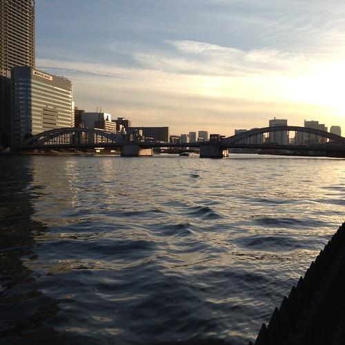 勝鬨橋に到着 by haruhiko_iyota