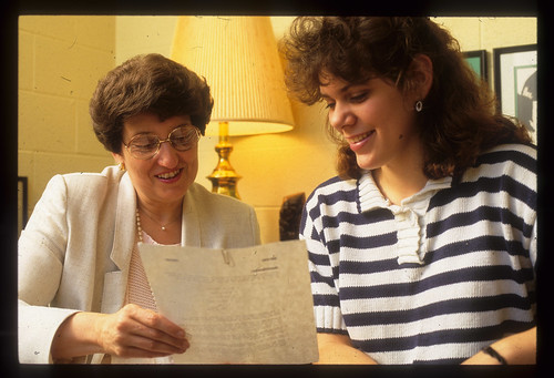 Weddle, Dr Alice Joy w Carol Sparks  1991