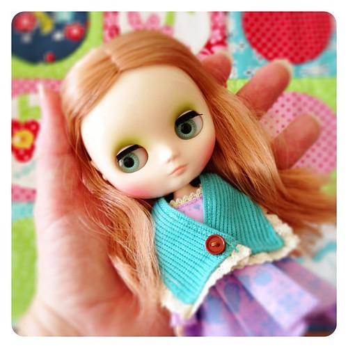 Sweet little Parson Grace middie blythe