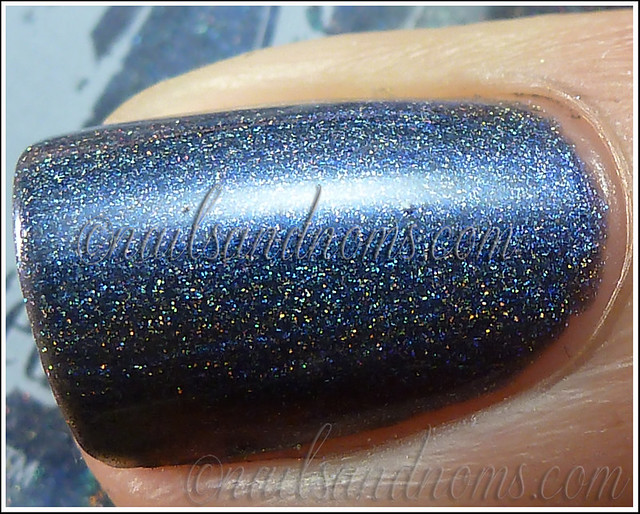 Enchanted Polish Ho Ho Holoday - Bruised Nutcracker 3