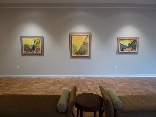 Leo Michelson exhibition