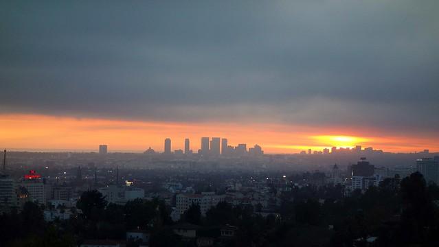 Hollywood Hills Sunset Sunset Hollywood Hills...