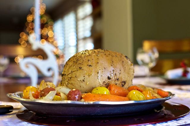 Tofurkey for Christmas Dinner