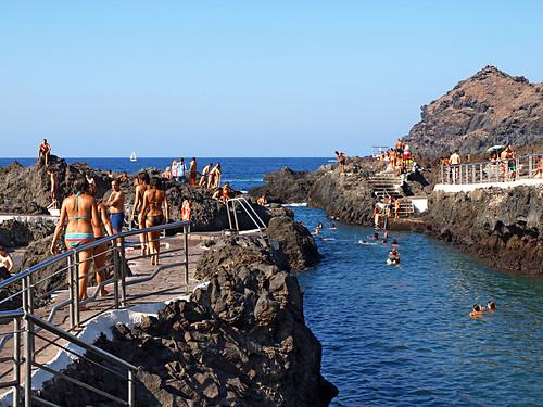 Isla Baja, Rock Pools, Garachico, Tenerife