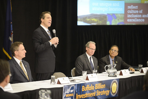 Governor Cuomo Presented with Buffalo Billion Investment Development Plan