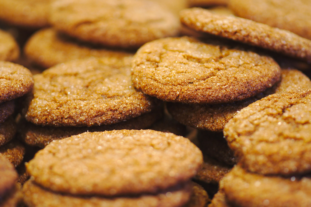 gingersnaps cookies