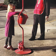 Tis the season! #salvationarmy #giving