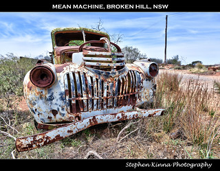 Mean Machine, Broken Hill, NSW
