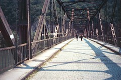 Zvornik Pedestrian Bridge, June 2002