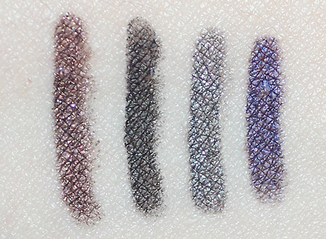 ud eyeliners swatch
