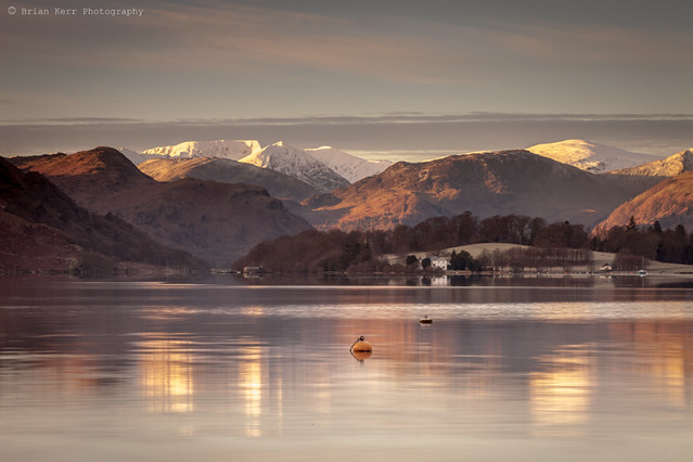 A Cold Morning On Ullswater