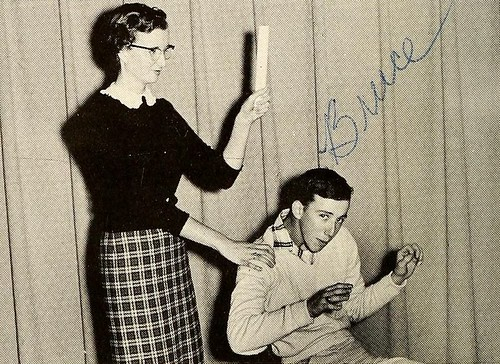 Wittiest, Senior Superlatives, Rosman High School, 1958