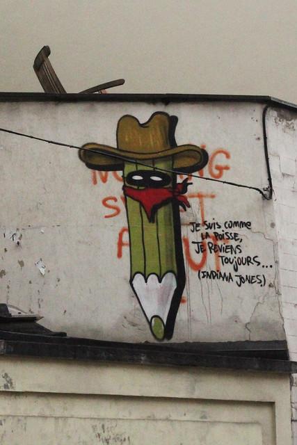 cowboy pencil