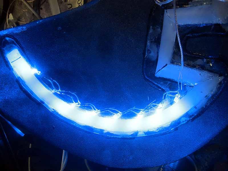 Projektor LED Wiring