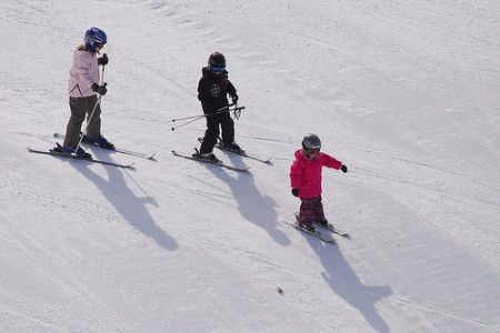 Kdy a jak začít na lyžích s dětmi?