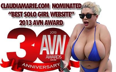 claudia marie avn award