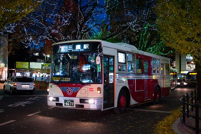 関東バス 青梅街道営業所 B3008 関東バス Archive - 回送
