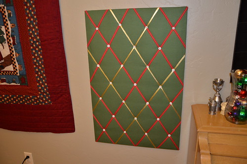 Christmas Card Board
