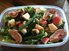 Fig Salad, Apples, Green Beans