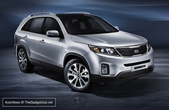automobile(1.0), automotive exterior(1.0), sport utility vehicle(1.0), vehicle(1.0), kia sorento(1.0), compact sport utility vehicle(1.0), crossover suv(1.0), bumper(1.0), land vehicle(1.0), kia motors(1.0),