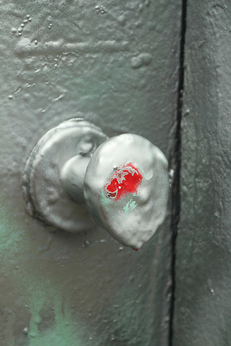 melting doorknob