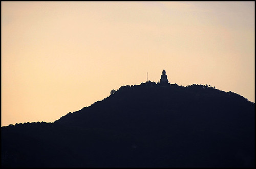 Big Buddha seen from Khao Kad