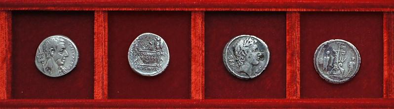 RRC 437, 51BC C.COEL Coelia, RRC 438, 51BC SER SVLP Sulpicia, Ahala collection Roman Republic