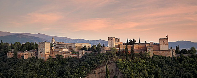 ALHAMBRA AT DUSK(ANDALUSIA/SPAIN)