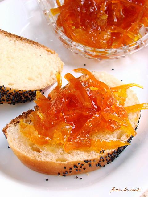 конфитюр апельсиновый с цедрой 1