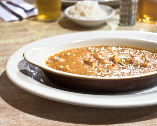 Crawfish Étouffée at Palace Cafe, Opelousas, LA | PopArtichoke