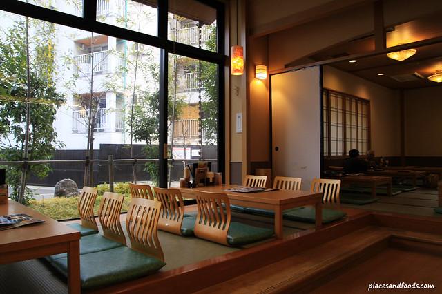 蔵前温泉さらさのゆ restaurant